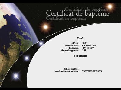 Certificate FR