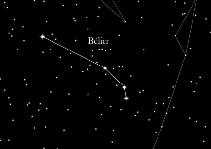 Constellation du Bélier